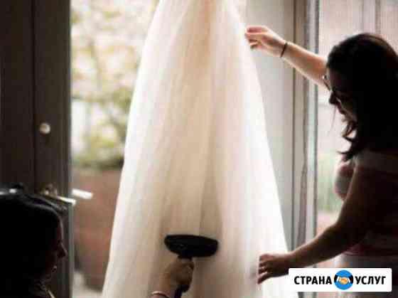 Отпаривание свадебных платьев Рязань