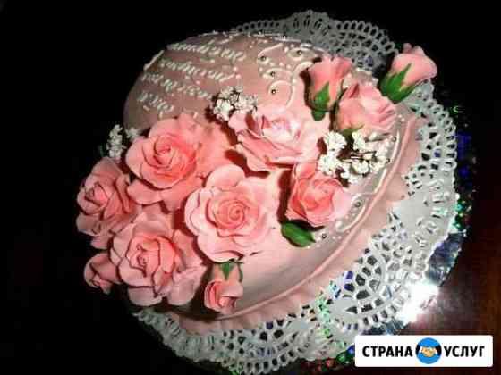 Торты с оформлением на разные тематики Вологда