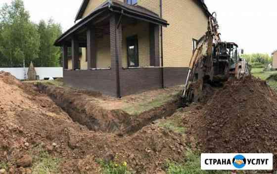 Дренажные системы,дренаж,водоотведение Нижний Новгород