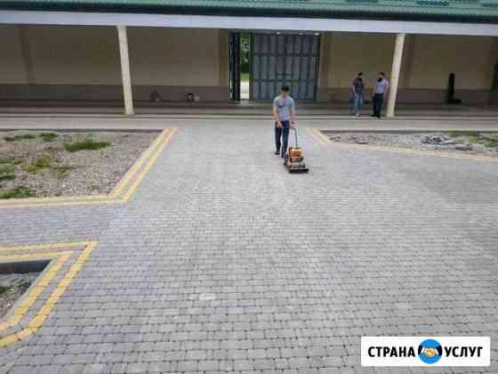 Укладка тротуарной плитки. Качественно и добросове Майртуп