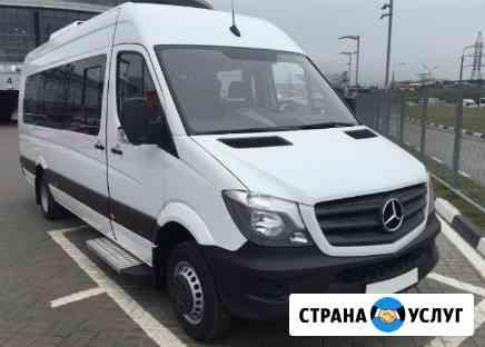 Заказ микроавтобуса Барнаул