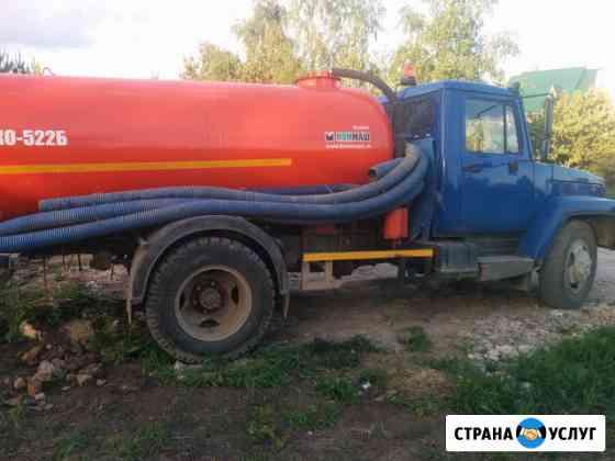 Откачка септиков, колодцев, туалетов. Ассенизаторская машина Боровск