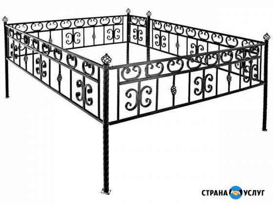 Оградки, столы, скамейки, кресты Барнаул