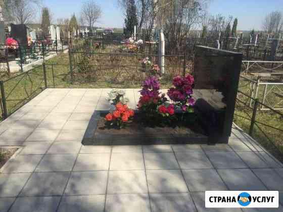 Благоустройство захоронений,могил Муром