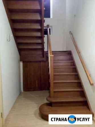 Лестницы на заказ, отделка дома, плотник, столяр Кузнечное