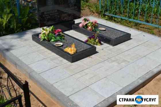 Благоустройство захоронений Псков