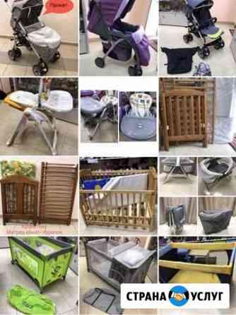 Прокат автокресло,кроватка,стульчик, коляска,манеж Калининград
