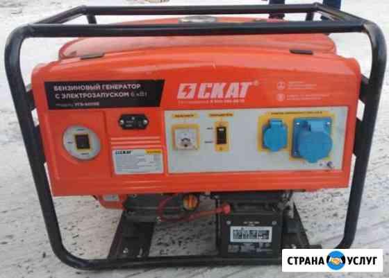 Сдам в прокат бензиновый генератор 6 квт Чита
