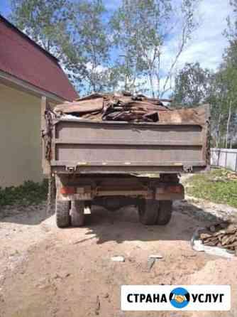 Вывоз мусора Крестцы
