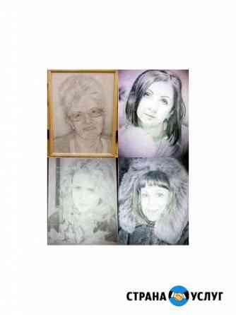 Рисую портреты карандашом Ярославль