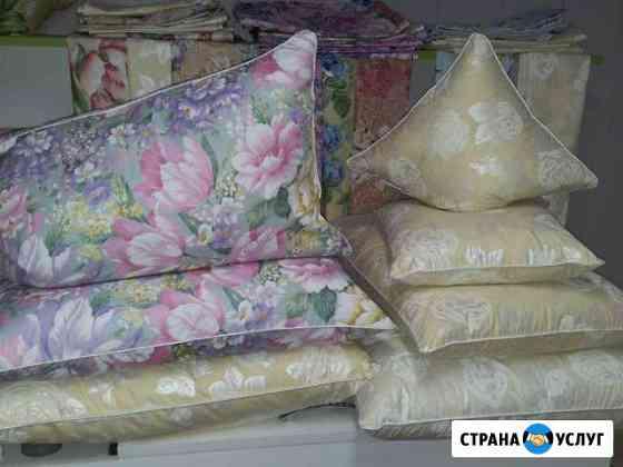 Чистка и реставрация пухо-перьевых подушек Владикавказ