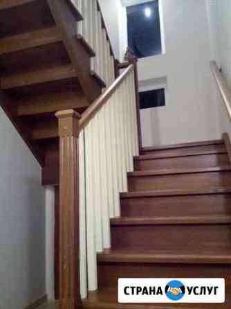 Отделка дома, лестницы, столяр, плотник Сосново