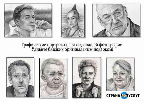 Графический портрет Архангельск