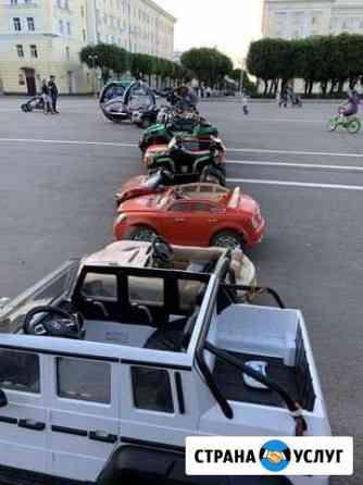 Ремонт детских электромобилей Смоленск