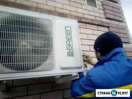 Установка сплит-систем, кондиционеров Ставрополь