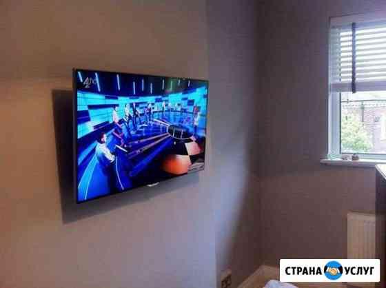 Повесить(установить) телевизор. Профессионально Нальчик