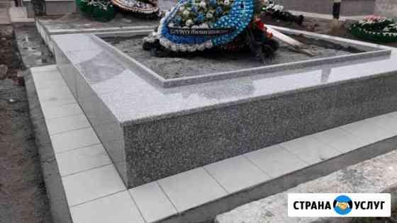Благоустройство на кладбищах Владикавказ