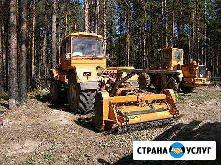Мульчер,заготовка леса Нижний Новгород