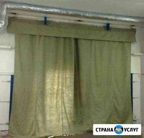 Брезентовая штора на гараж Великий Новгород