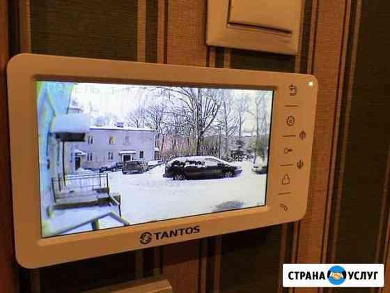 Домофоны, видеодомофоны, электрозамки Северодвинск