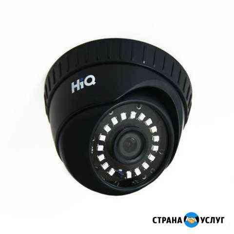 Установка камер видеонаблюдения Суоярви