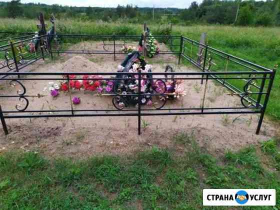 Изготовление оградок Псков