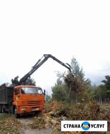Спил деревьев расчистка участков под застройку Пенза