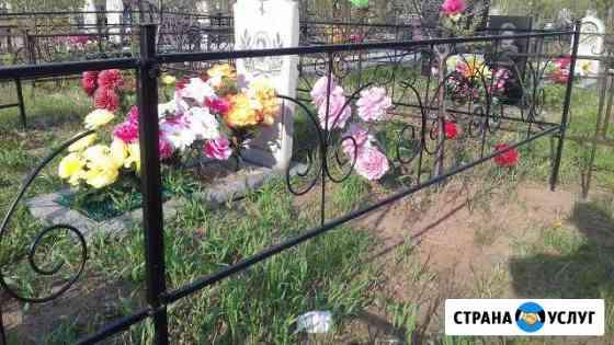 Оградки,столики,лавочки в Братске без посредников Братск