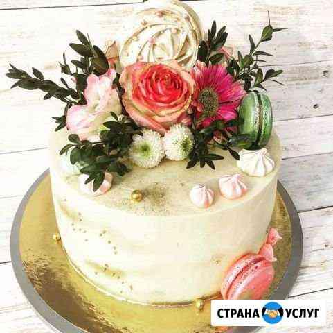 Торты, пирожные, зефир и другие сладости на заказ Владимир
