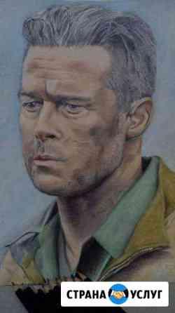 Рисование портретов карандашом Бийск