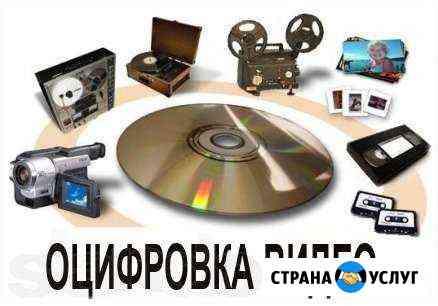 Оцифровка видеокассет Иваново