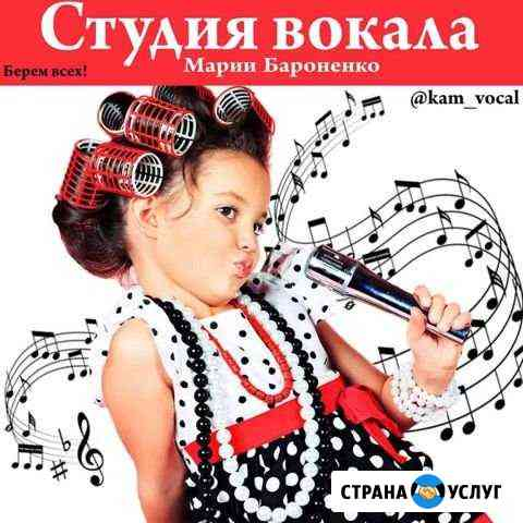 Уроки академического и эстрадного вокала Петропавловск-Камчатский