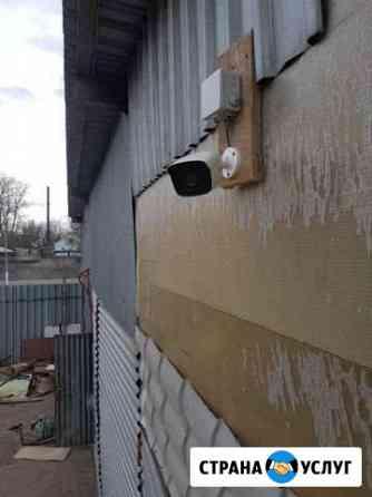 Монтаж видеонаблюдения и охранной сигнализации Тверь