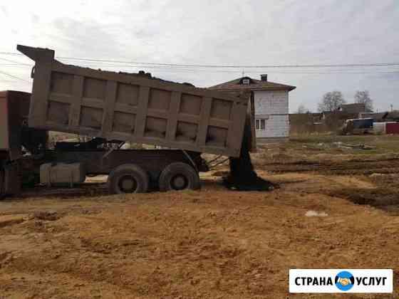 Доставка грунта, песка, щебня Кострома