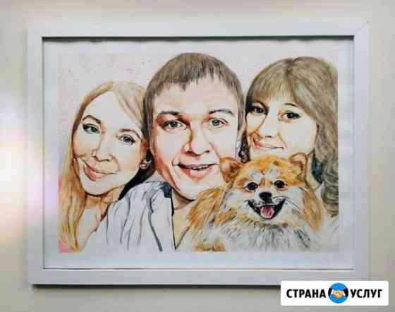 Портрет на заказ Пермь