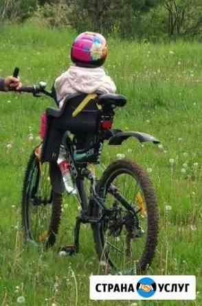 Прокат/ аренда велосипеда с детским креслом Пермь