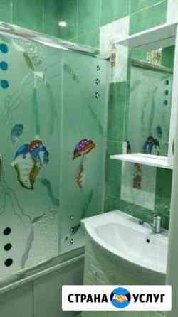 Ремонт ванных комнат, керамогранит, кафель,пластик Магадан