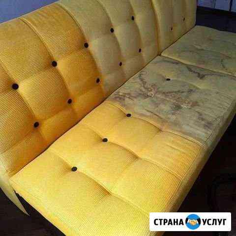 Выездная химчистка мягкой мебели Пенза