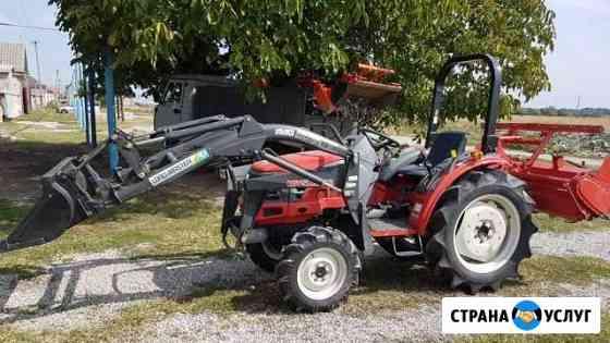 Вспашка теплиц, земельных участков мини-трактором Нарткала