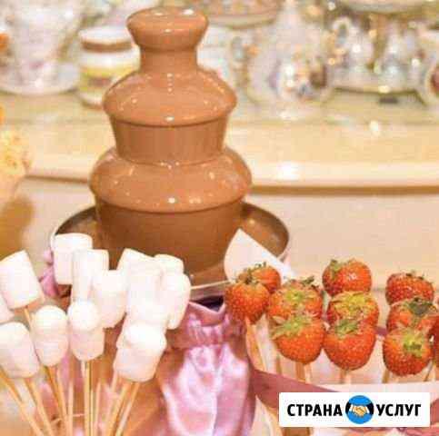 Аренда шоколадного фонтана Уварово