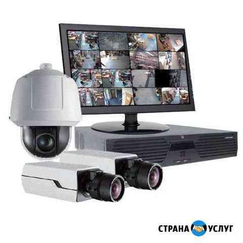Обслуживание и монтаж систем видео наблюдения Тюмень