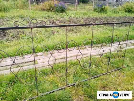 Оградки металлические Троицко-Печорск