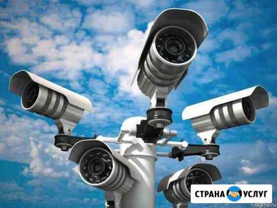 Установка спутникового тв и видеонаблюдения Севастополь