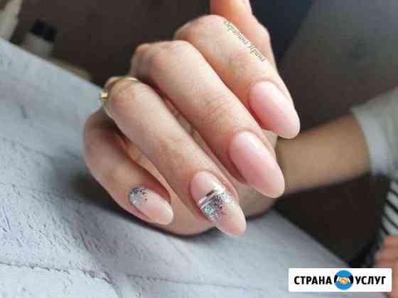 Маникюр с покрытием и дизайном по одной цене Нижний Новгород