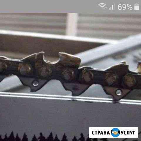 Заточка цепей бензопилы Петропавловск-Камчатский