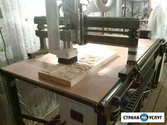Работа на фрейзерно-гравировальном станоке с чпу Саранск