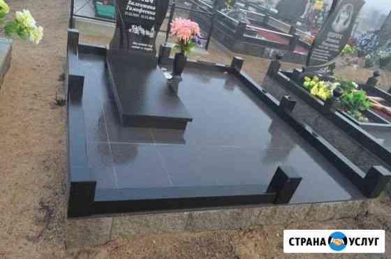 Благоустройство мест захоронения, памятники Вязники