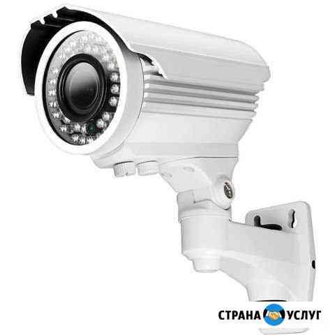 Установка систем видеонаблюдения Санкт-Петербург