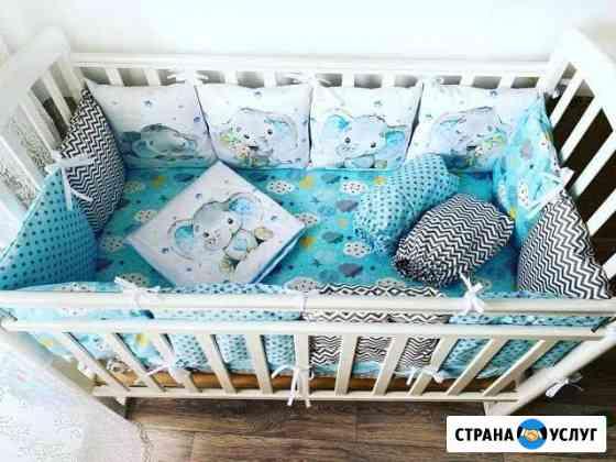 Бортики в кроватку Жуковка