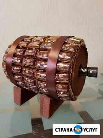Бочка из конфет Тюмень